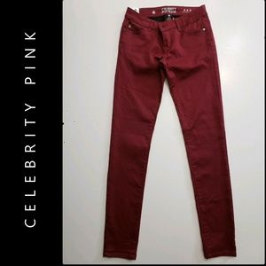 Celebrity Pink Woman Low Rise Skinny Jeans Stretch